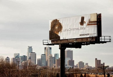 Winter 2012/2013 WOODCHUCK Case Billboard + Ads