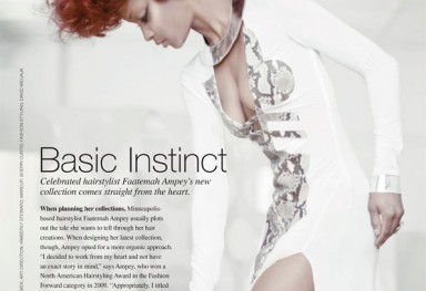 Basic Instinct - American Salon Magazine